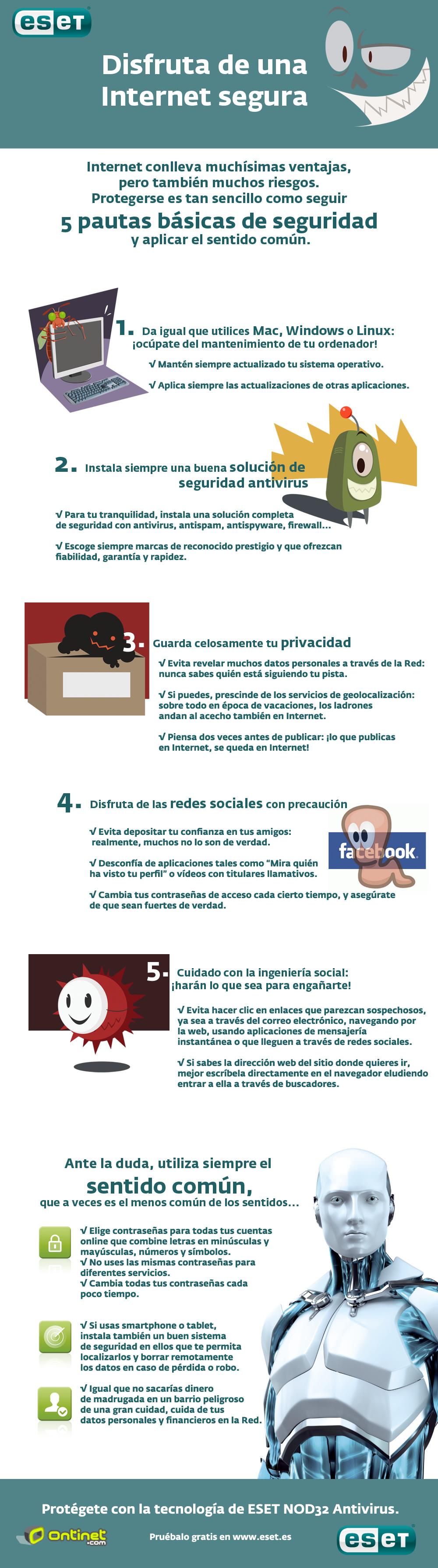 Infografía - Día de Internet - Consejos Internet Seguro